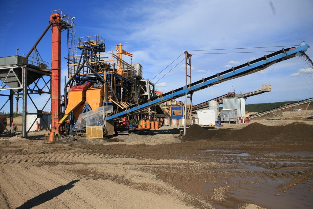 В АО «Алмазы Анабара» начинается промывочный сезон