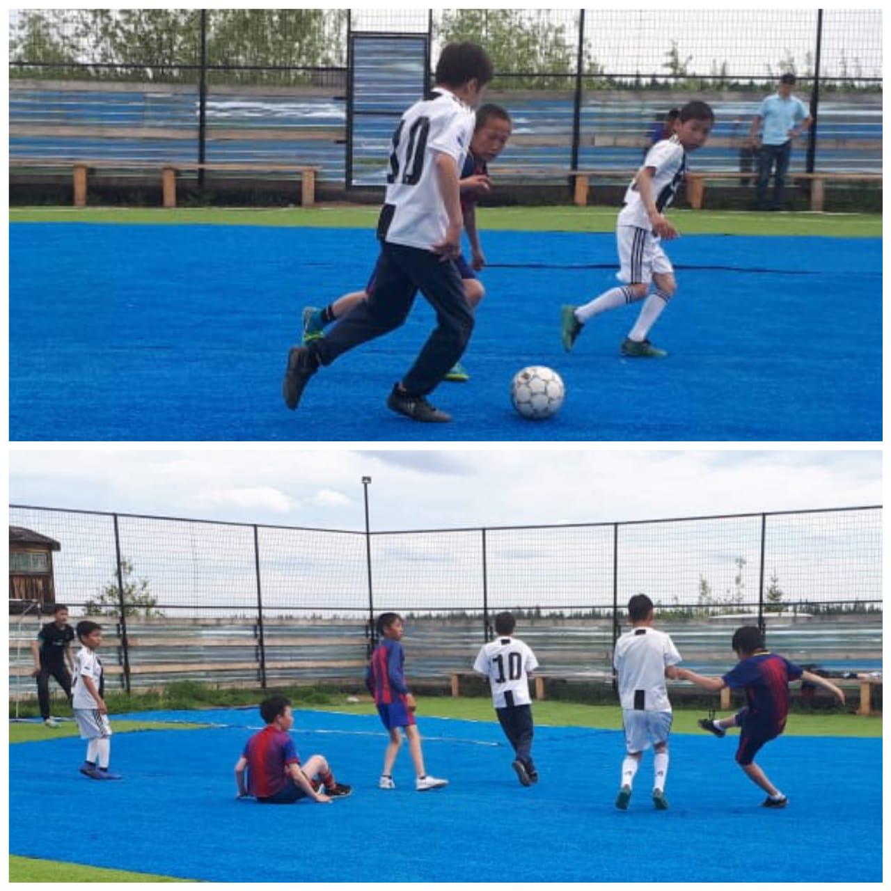 Детский дворовый футбол стартовал в Сунтарском улусе