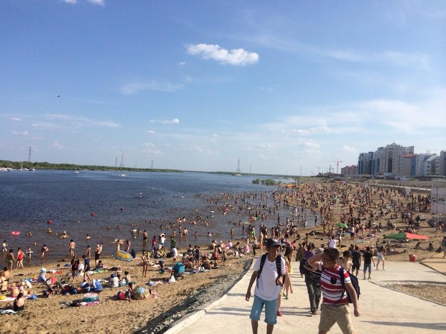 27 июня состоится торжественное открытие городского пляжа