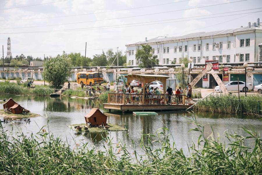 В Якутске открылся летний сезон экологического парка «Лебединое озеро»