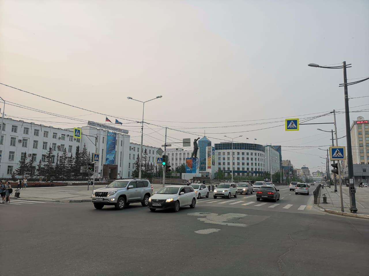 Задымление в Якутске связано с пожарами в соседних регионах