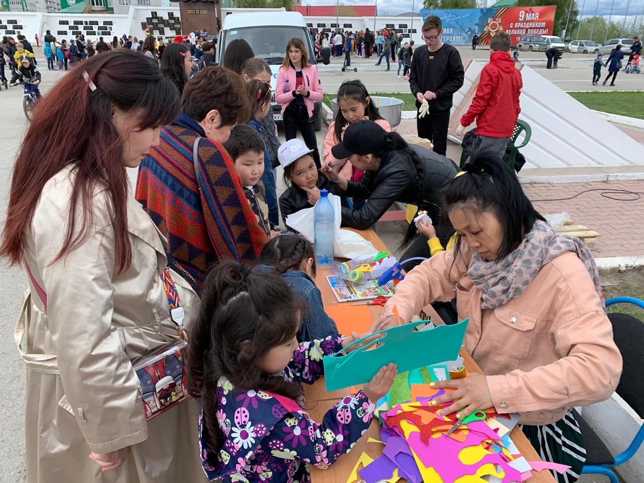 В Губинском округе провели акцию «Должны смеяться дети!»