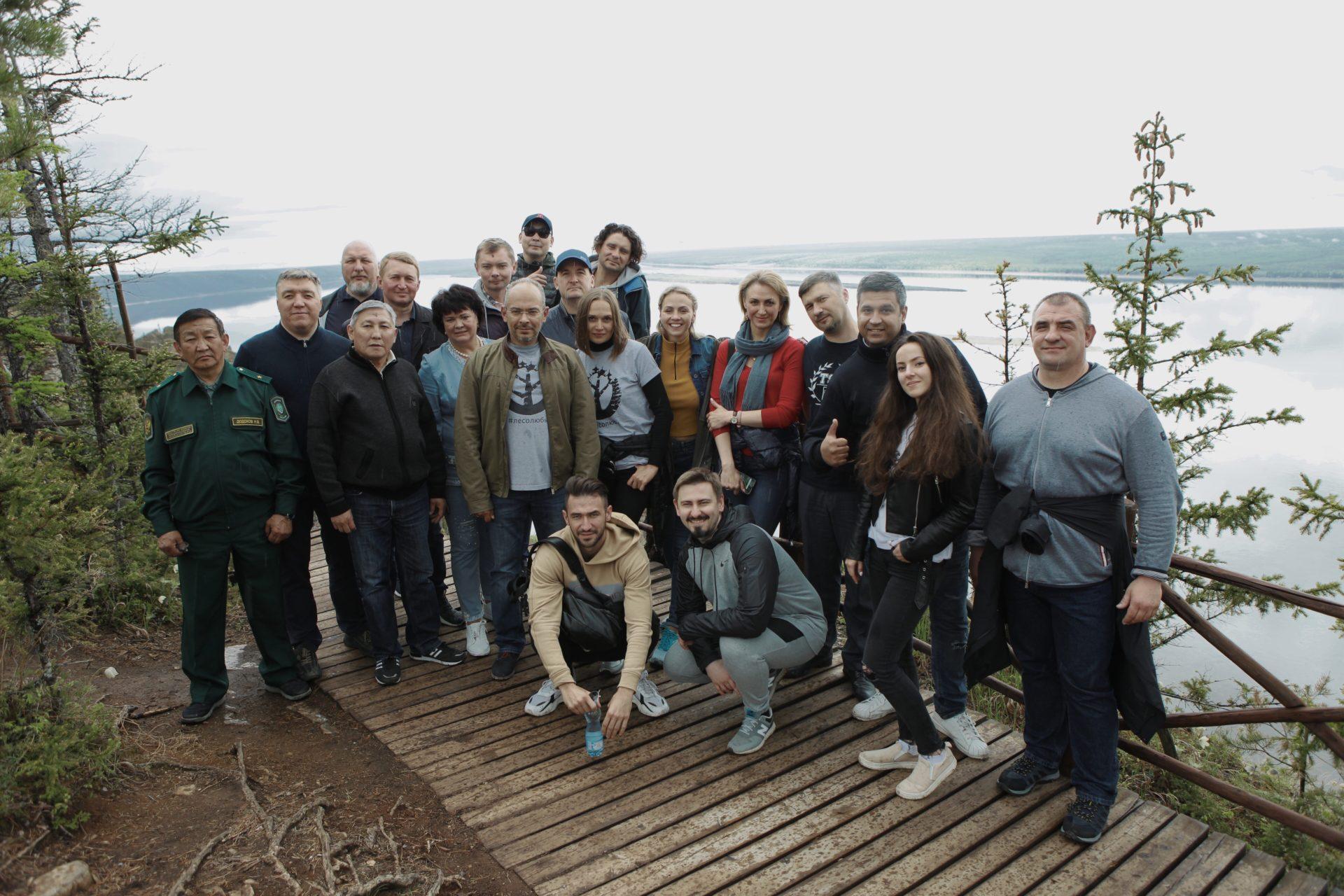 Участники Национального лесного Форума посетили Ленские столбы и предложили тиражировать опыт нацпарка