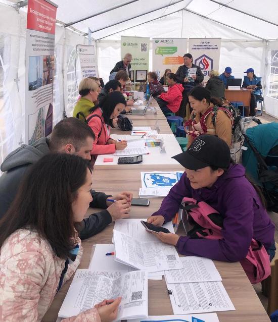 """Якутяне посетили акцию """"Международный день соседей"""", несмотря на проливной дождь"""