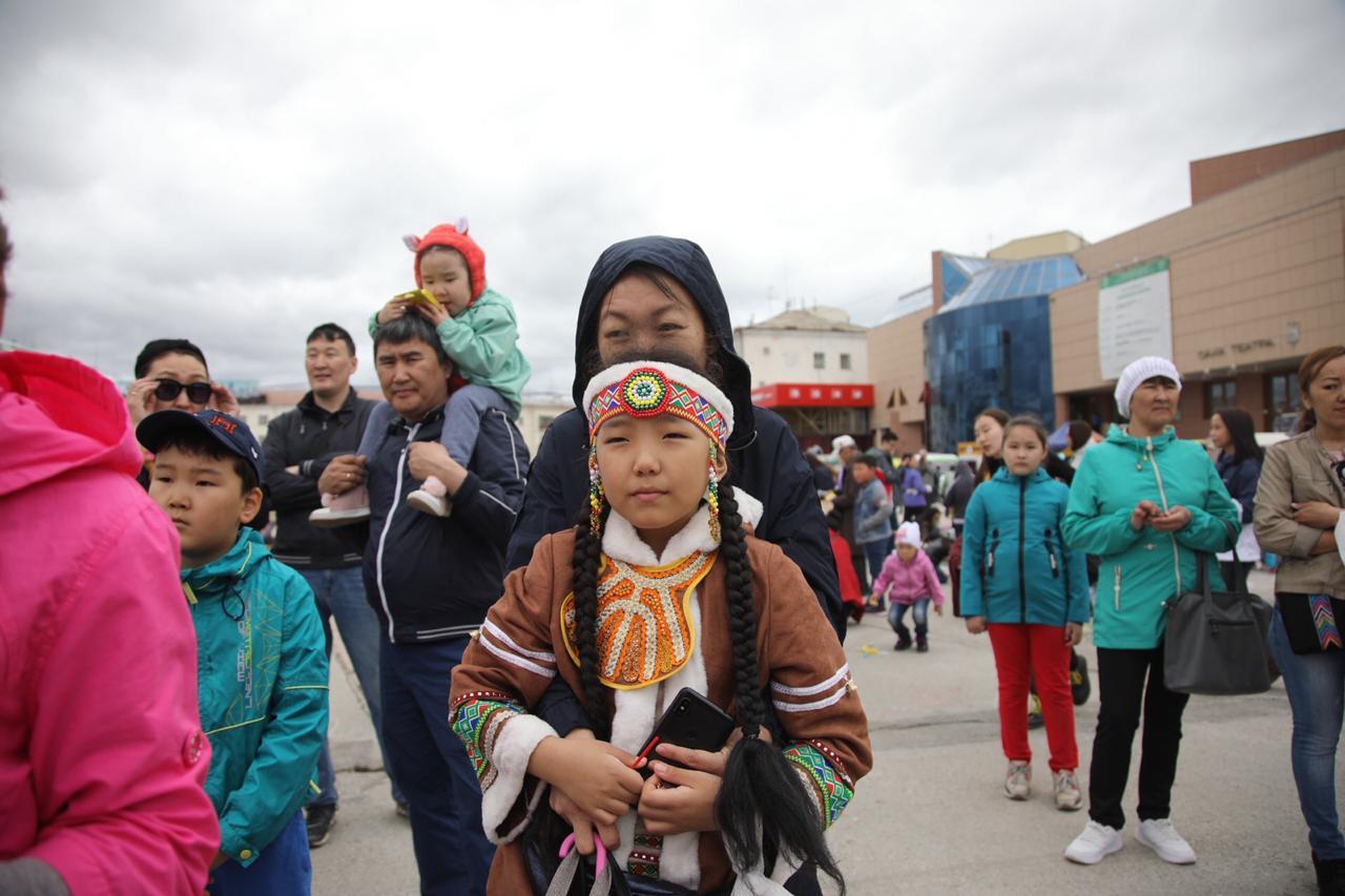 В Якутске отпраздновали День защиты детей