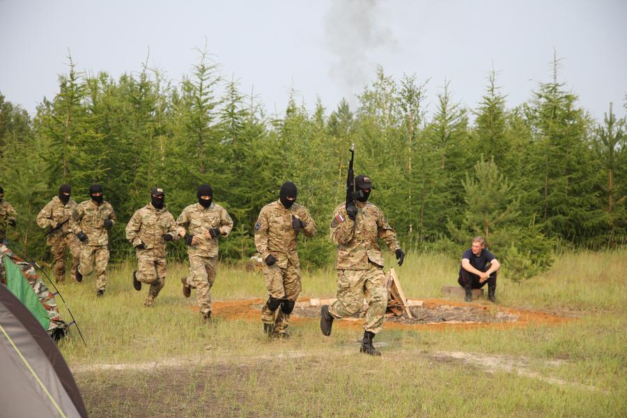 В Якутске стартовали VIII военно-спортивные игры для детей и подростков