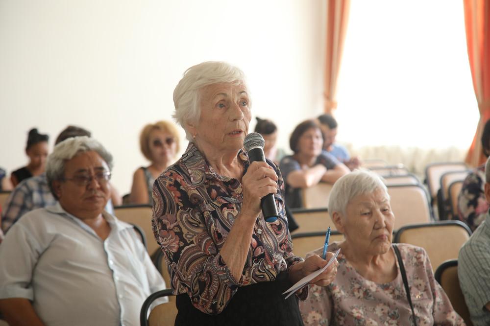 В Сайсарском округе прошла встреча с населением в рамках реализации национального проекта «БКАД»
