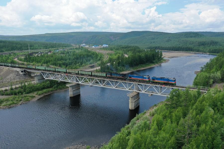 За первое полугодие 2019 года компания «Железные дороги Як4утии» перевезла около 3,5 млн тонн грузов