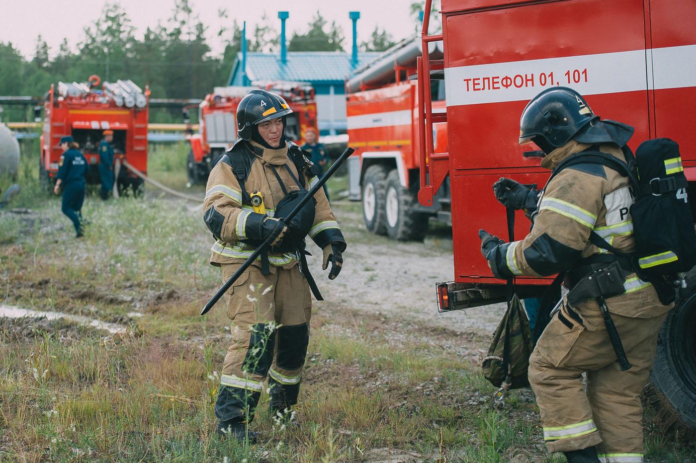 В Якутском газоперерабатывающем заводе потушили «пожар»