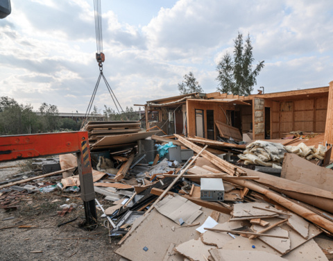На территории будущего Кардио-сосудистого центра начался снос старых  домов