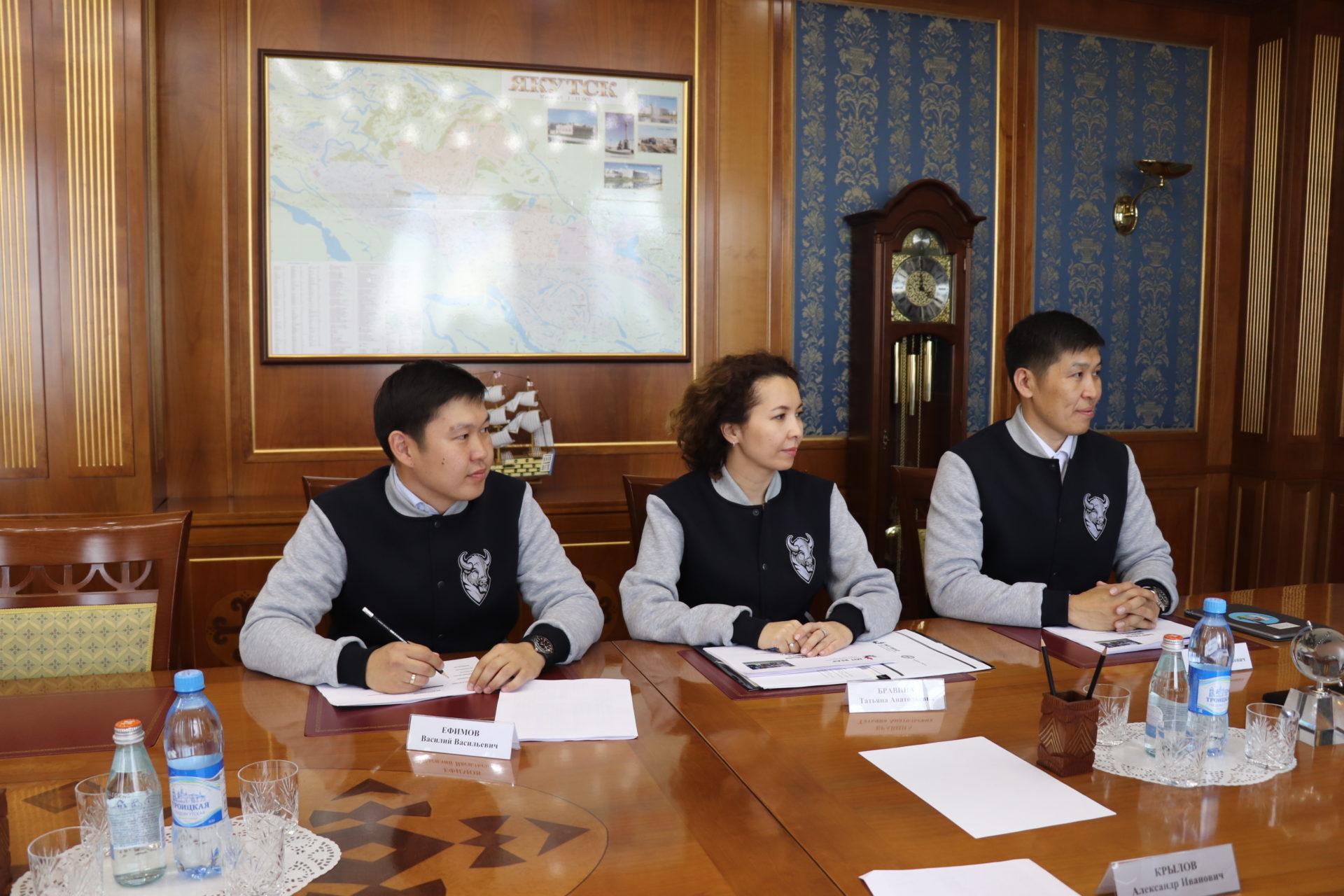 Глава Якутии встретился с выпускниками акселерационной программы Массачусетского технологического института