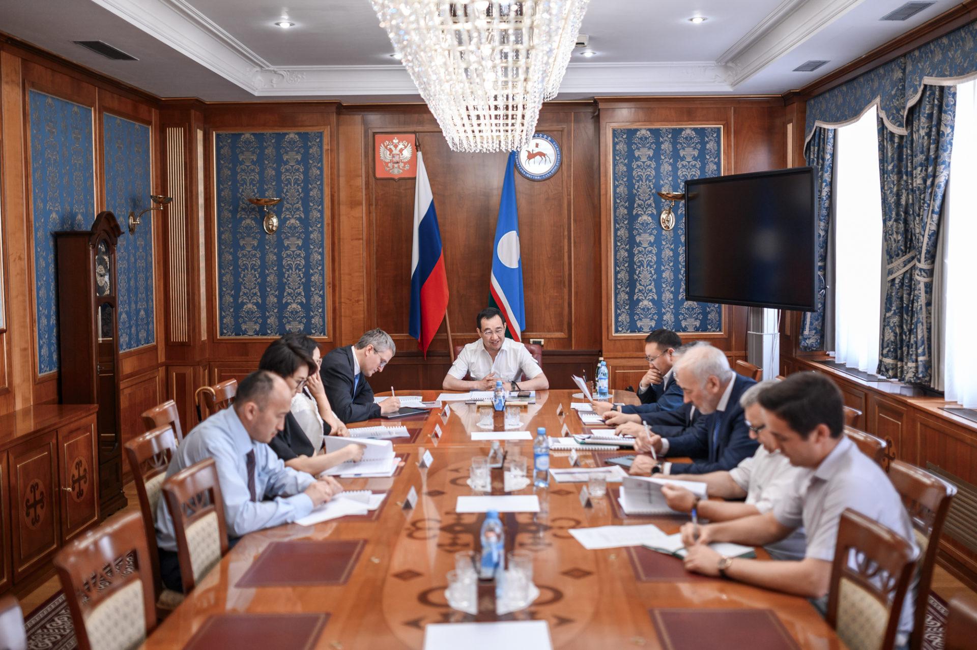 В Якутии обсудили развитие акционерного общества «Кондрагметалл»