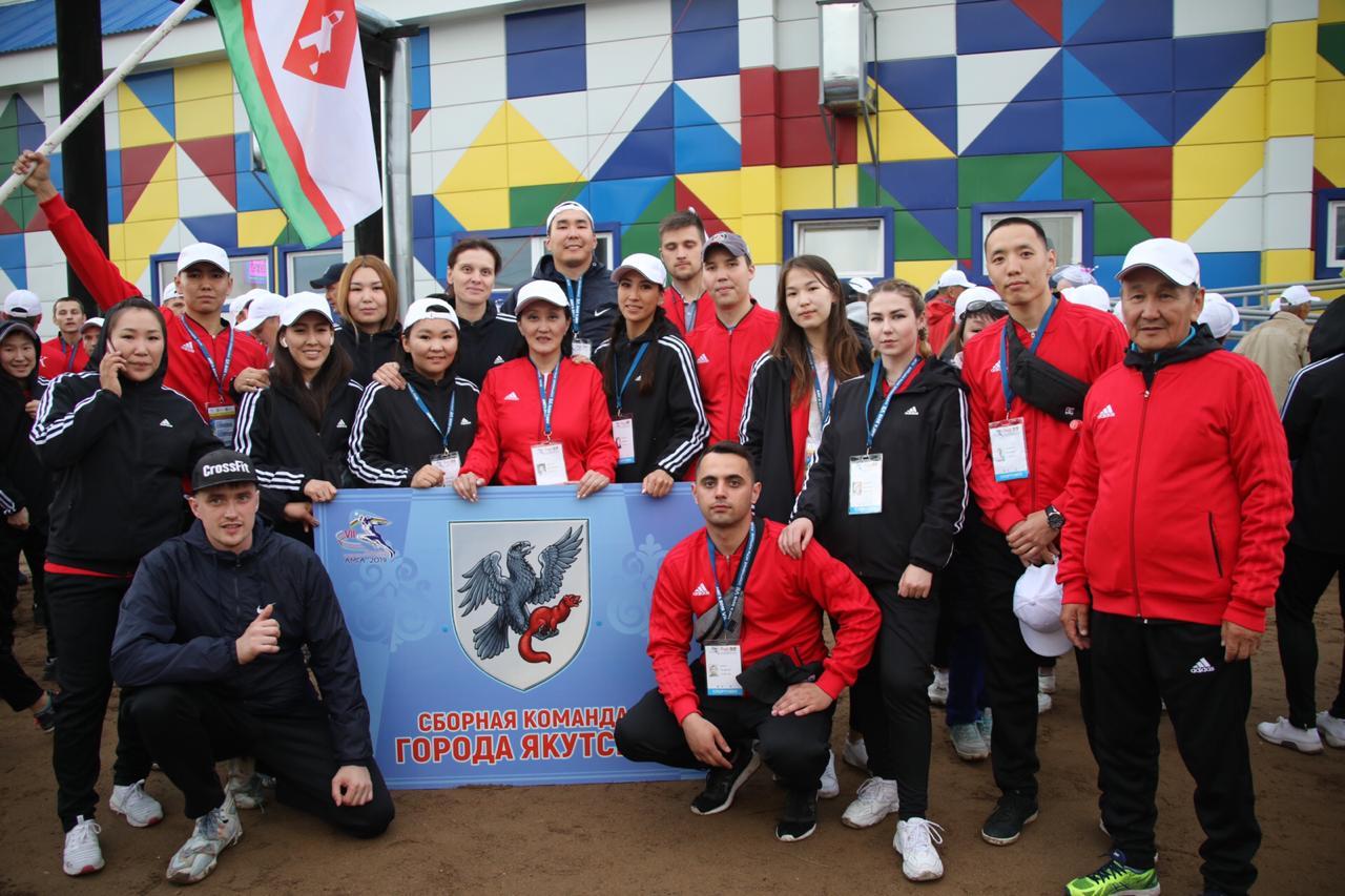 Сардана Авксентьева встретилась со сборной города Якутска
