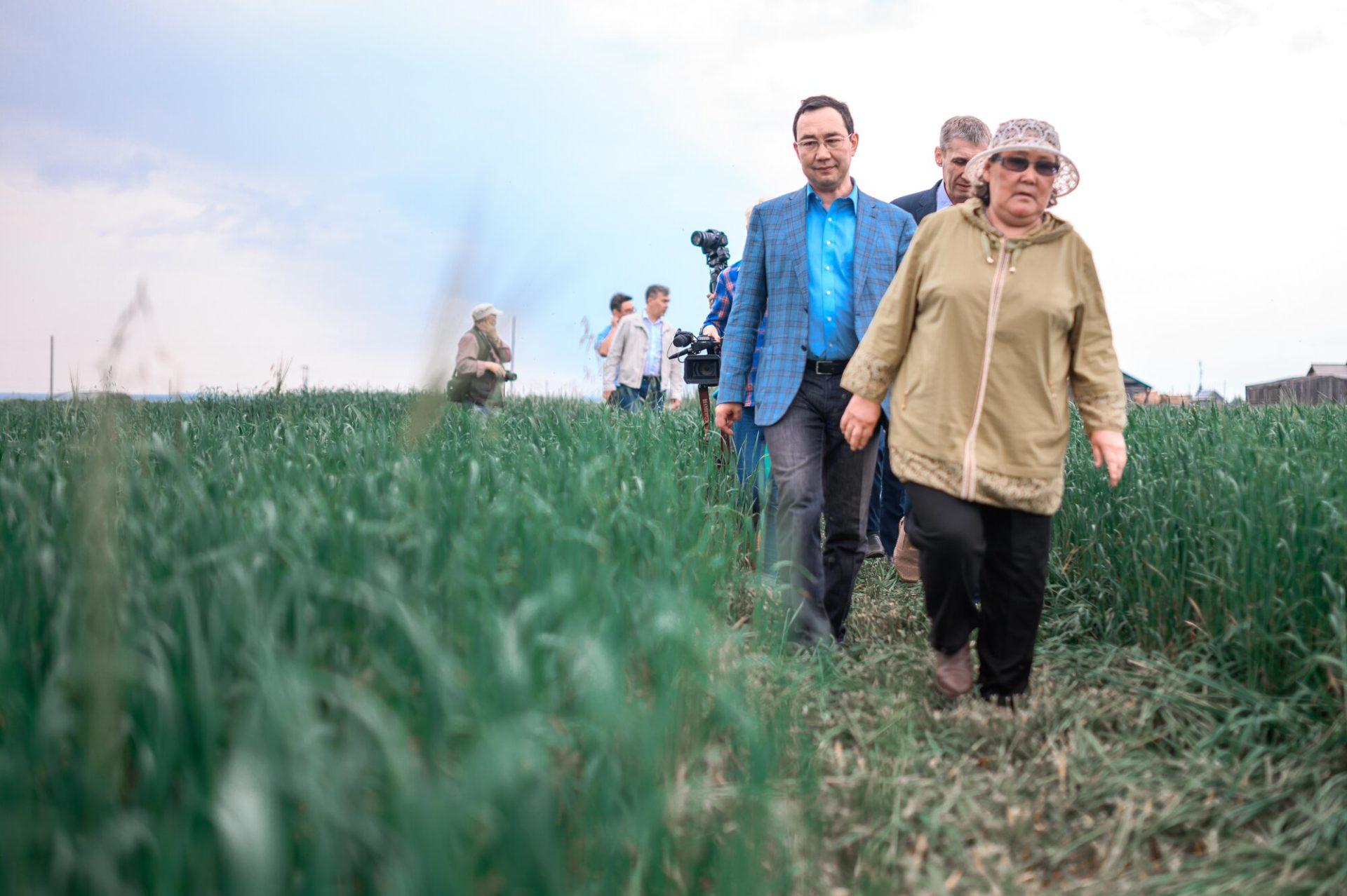 Айсен Николаев: «Сельское хозяйство Олекминского района должно стать передовым»