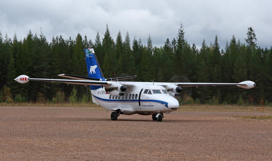 Самолет «полярников» вернулся из Чехии