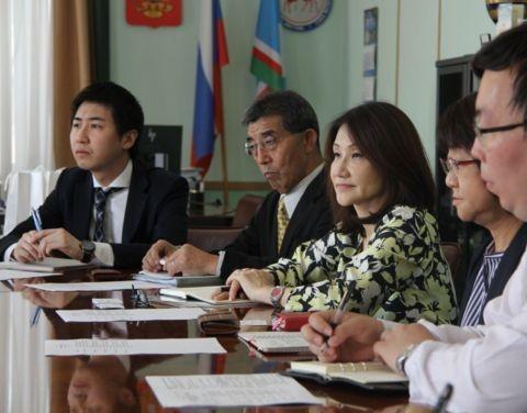 В Якутию для изучения инвестпроектов прибыла делегация из Японии