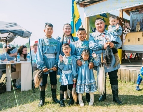 Фестиваль ТАБЫС: Лучшей молодой семьёй Якутии стали Ивановы из Чурапчинского улуса