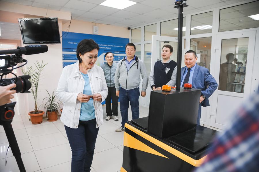 Руководство Якутска заинтересовали разработки Арктического инновационного центра