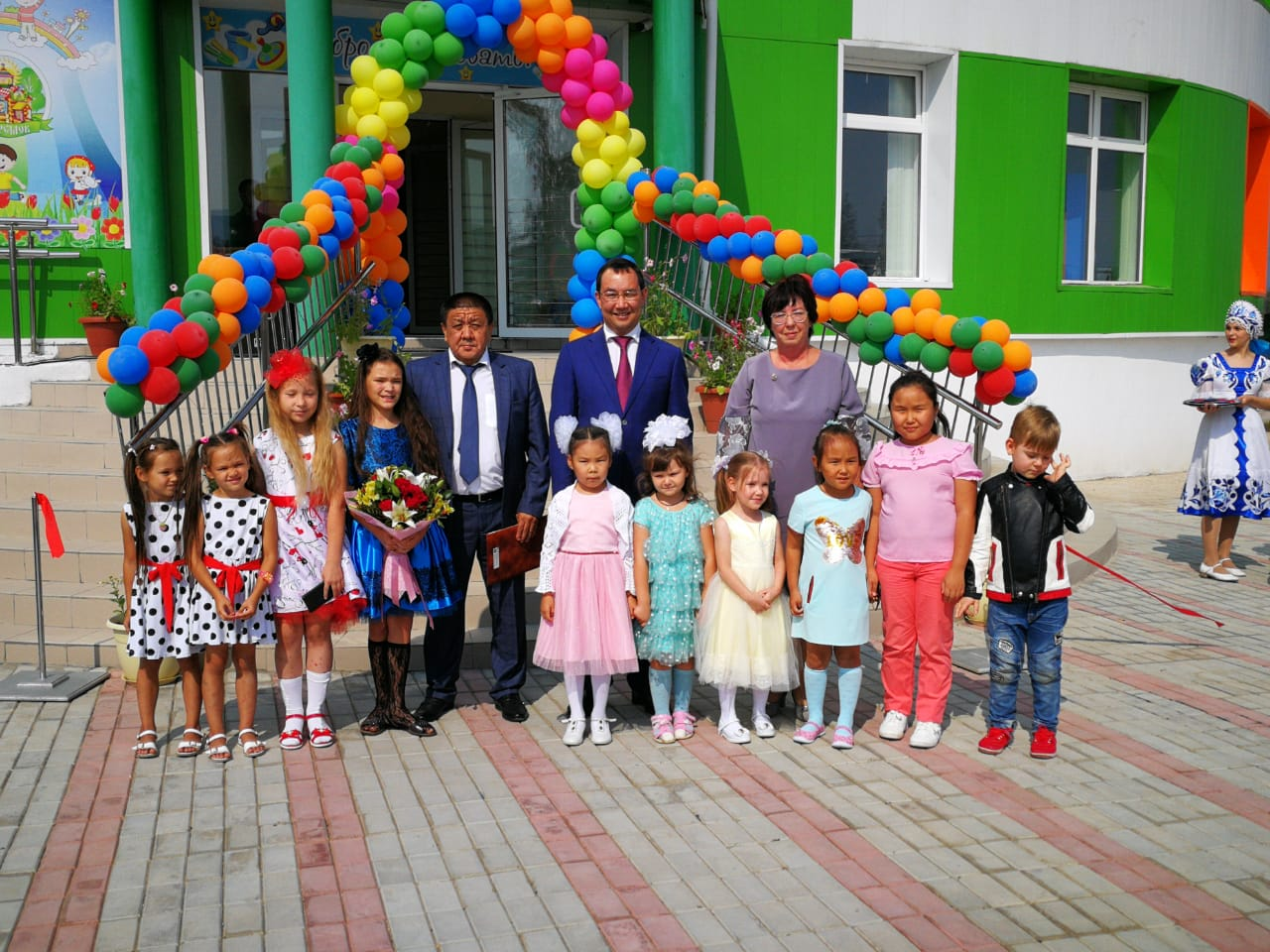 В Ленском районе открылся детский сад