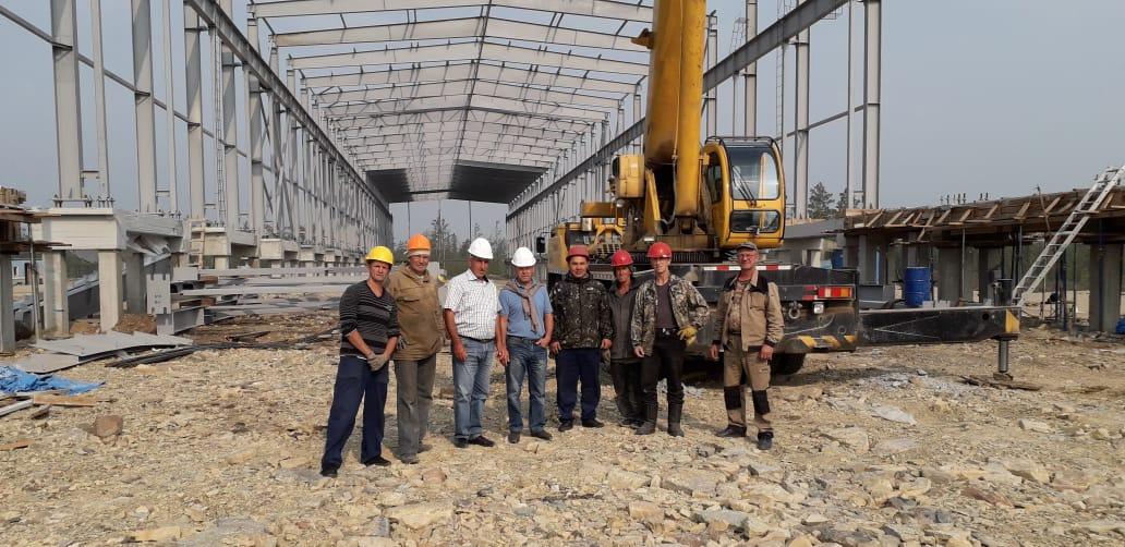 Ассоциация строителей «АЯМ» возводит суперкомплекс