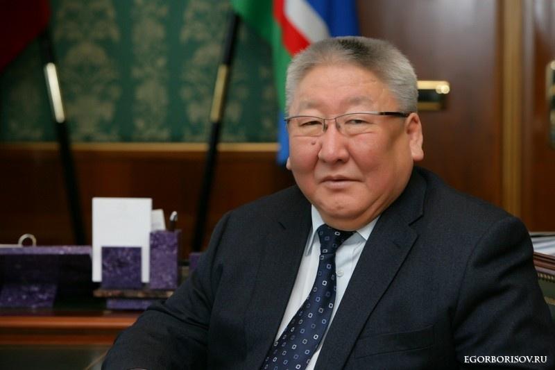 Егор Борисов 65 сааһын көрсө