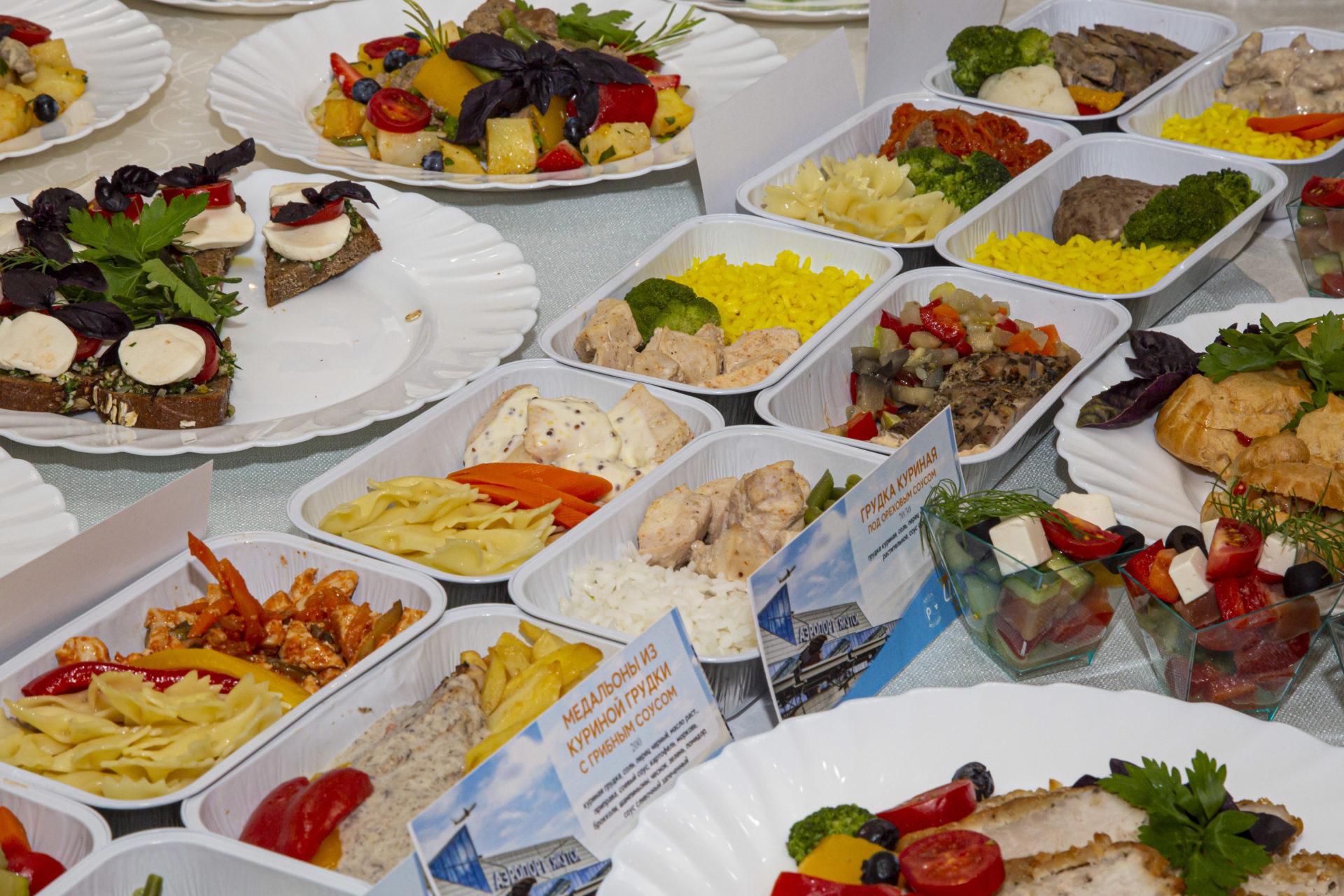 Аэропорт «Якутск» обновил меню бортового питания
