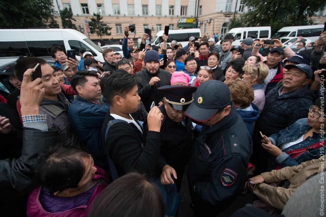 В Улан-Удэ не все спокойно