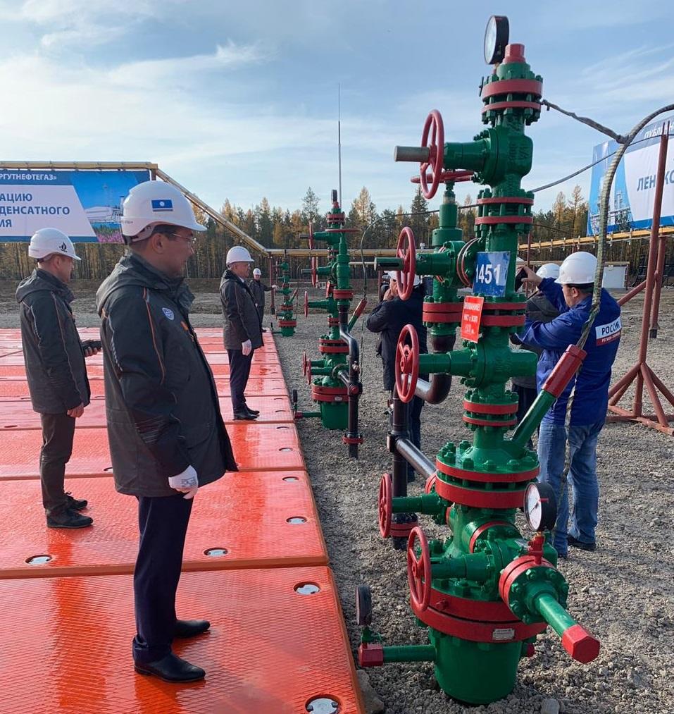 Айсен Николаев и Владимир Богданов дали старт запуску в эксплуатацию Ленского нефтегазоконденсатного месторождения