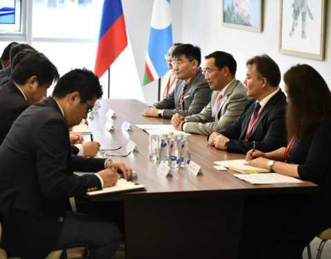 Глава Якутии обсудил с директором японского банка JBIC совместные проекты, реализуемые на территории республики