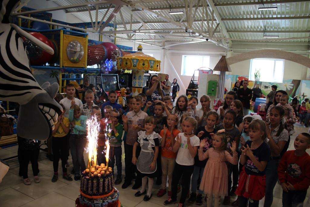 День рождения- праздник детства! ТРК « Чудо парк» — 8 лет