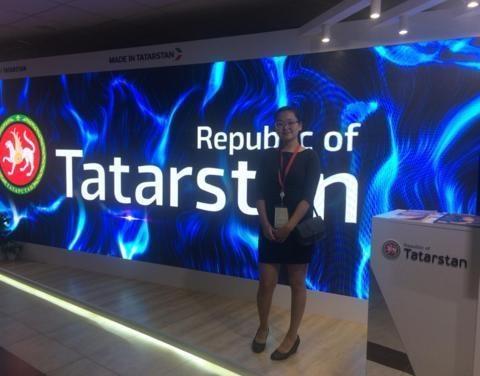 Студентка Якутской ГСХА приняла участие в Восточном экономическом форуме