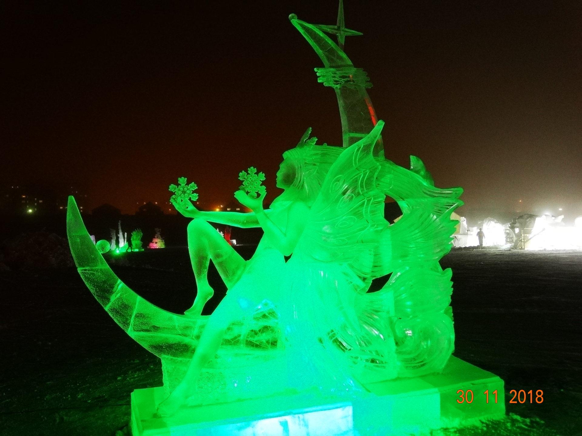 Международный конкурс ледовых и снежных скульптур «Бриллианты Якутии» стартует с 24 ноября