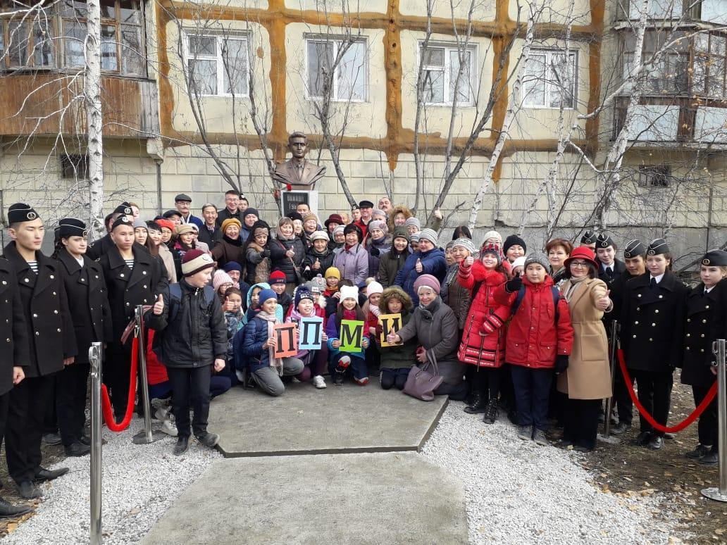 В Якутске состоялось открытие памятника Володе Губину