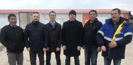 Денис Белозеров и Александр Атласов посетили базу производственной компании ООО «АгроТек» в Калуге