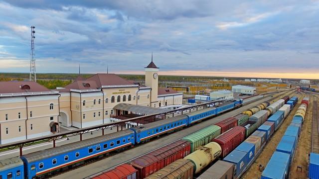 Объем перевозок грузов Акционерной компании «Железные дороги Якутии»  вырос на 33%