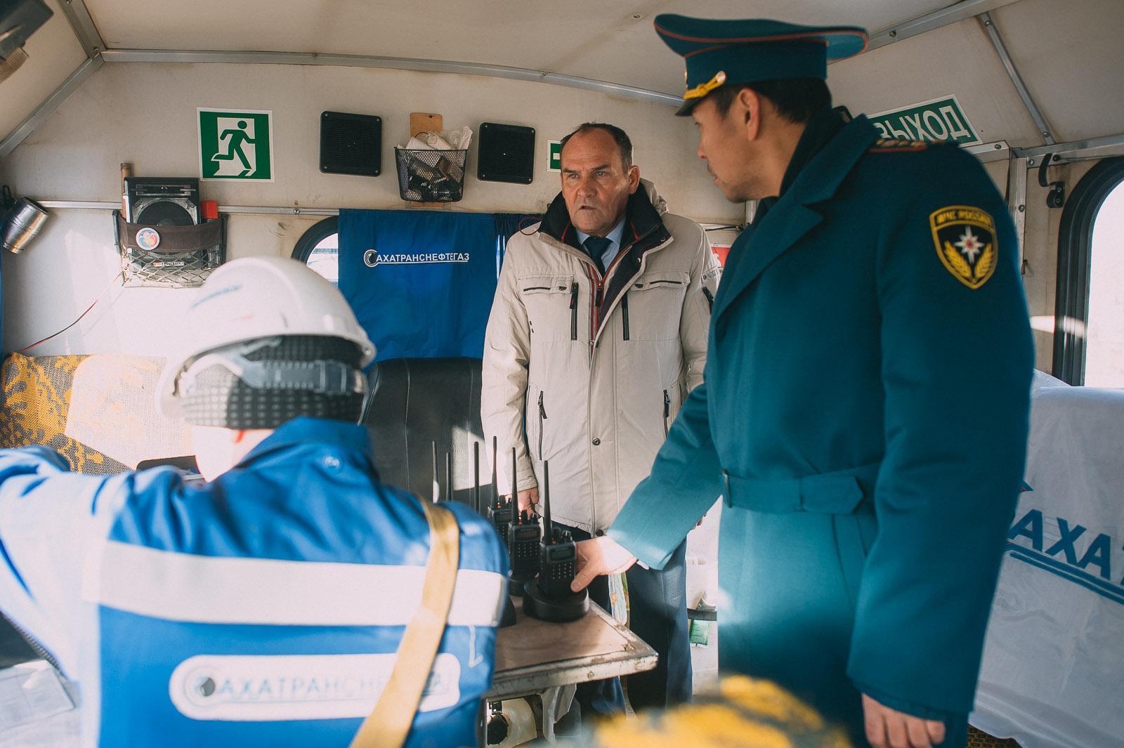 """Нештатные аварийно-сапасательные формирования АО """"Сахатранснефтегаз"""" – в режиме повышенной готовности"""