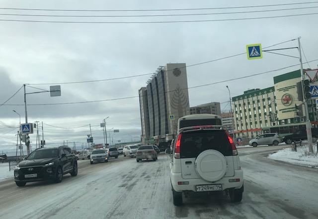 На перекрестке возле поликлиники №3 не работает светофор