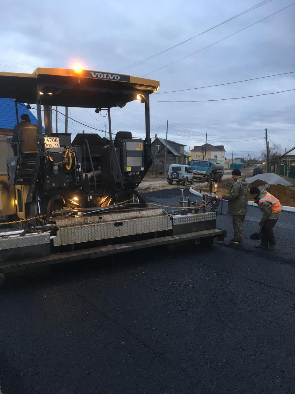 Завершено асфальтирование Хатын-Юряхского шоссе, на очереди – ул. Чайковского и Ларионова