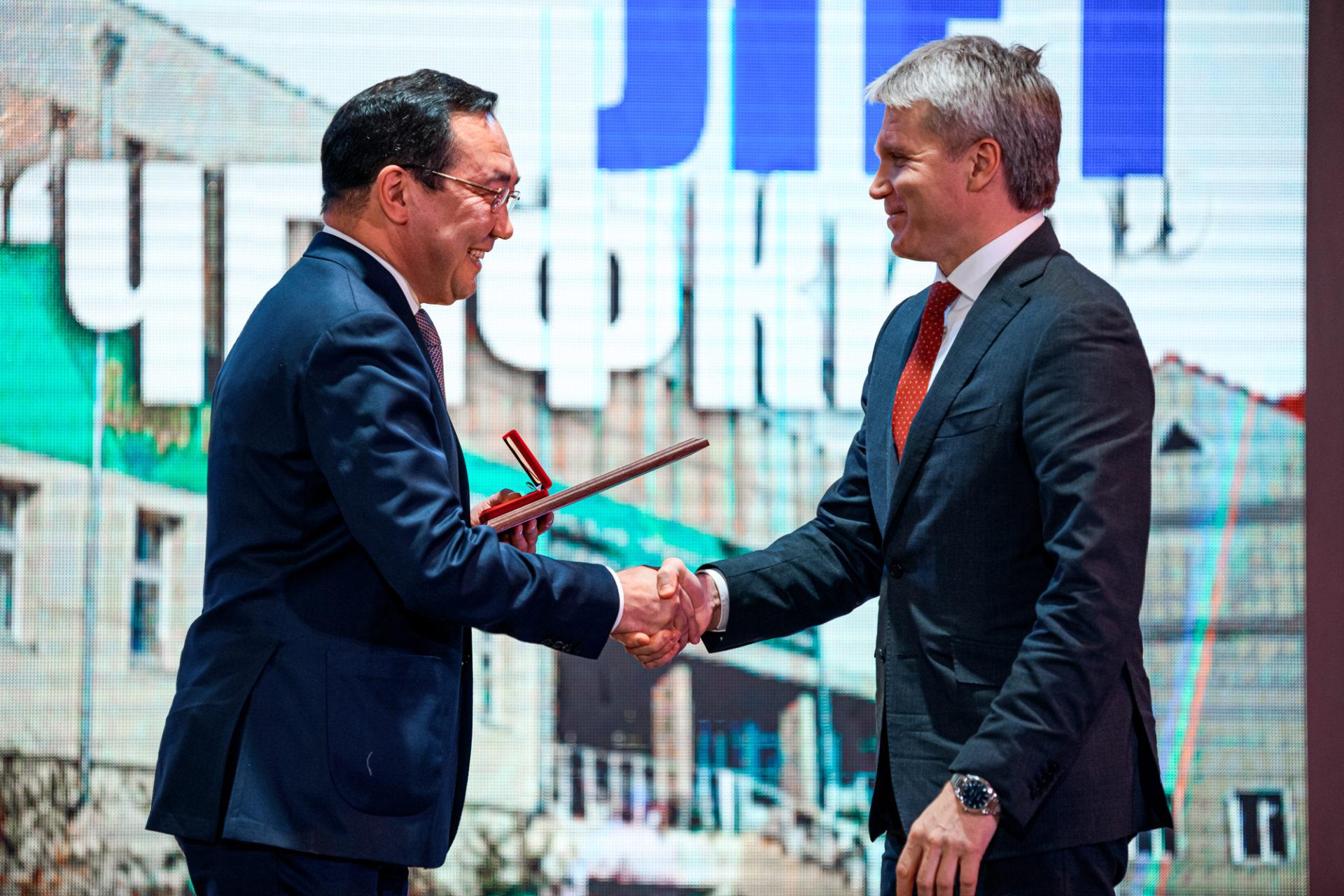 Айсен Николаев предложил Минспорту РФ придать ЧГИФКиС статус базового вуза по национальным видам спорта