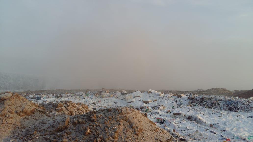 Вблизи полигона на Вилюйском тракте вредных выбросов в воздухе не выявлено