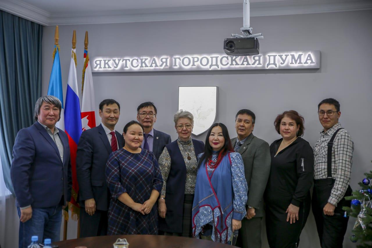 В Якутской городской Думе поздравили журналистов