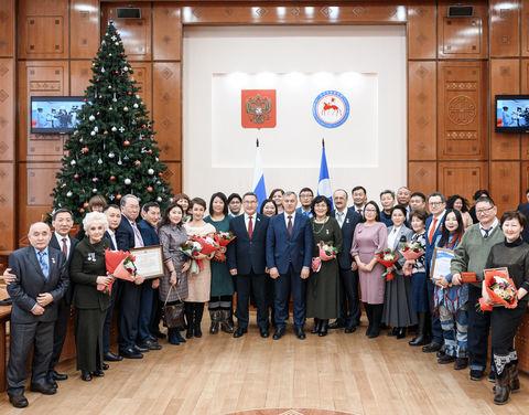 В День российской печати вручены государственные награды