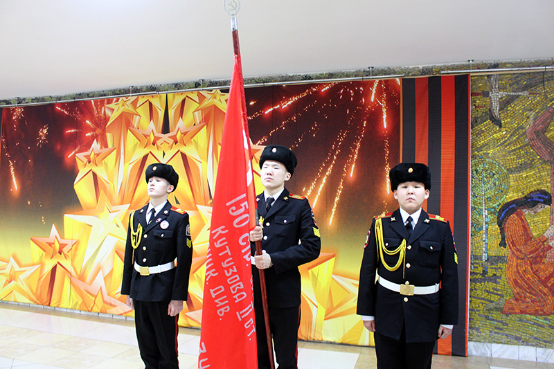 Знамя Победы передали Жиганскому району