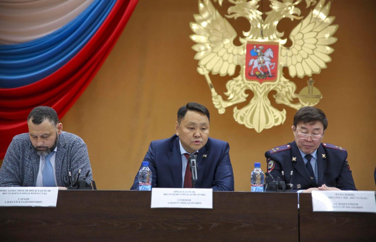 Альберт Семенов: «В Якутске должна быть усилена работа участковых»