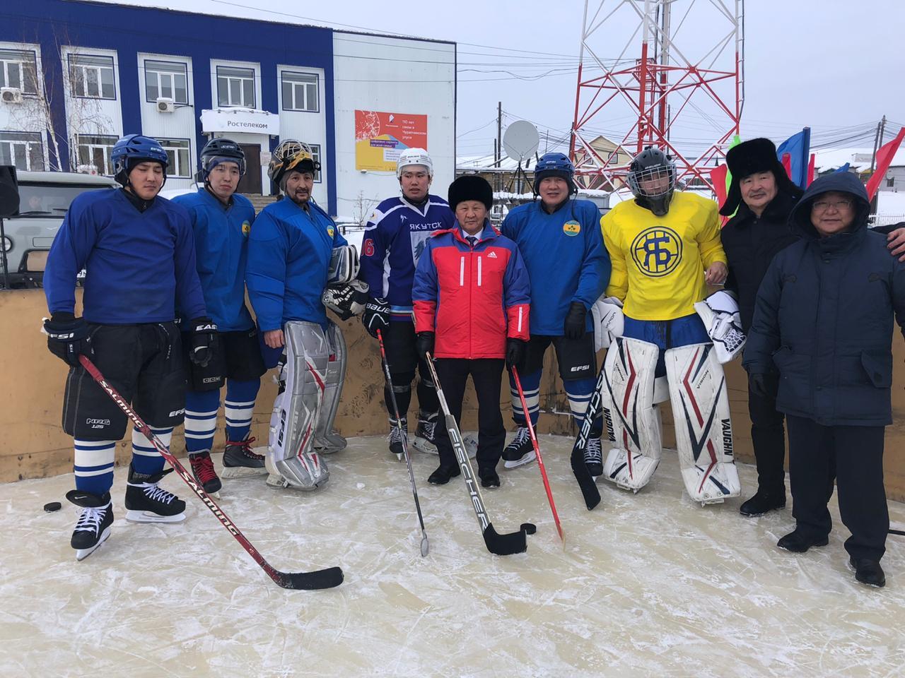 В Чурапчинском районе прицеливаются к конькобежному спорту