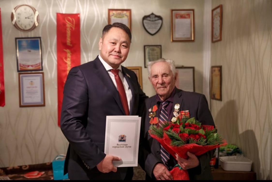 Альберт Семенов: «В Год 75-летия Победы Якутск понес невосполнимую утрату»