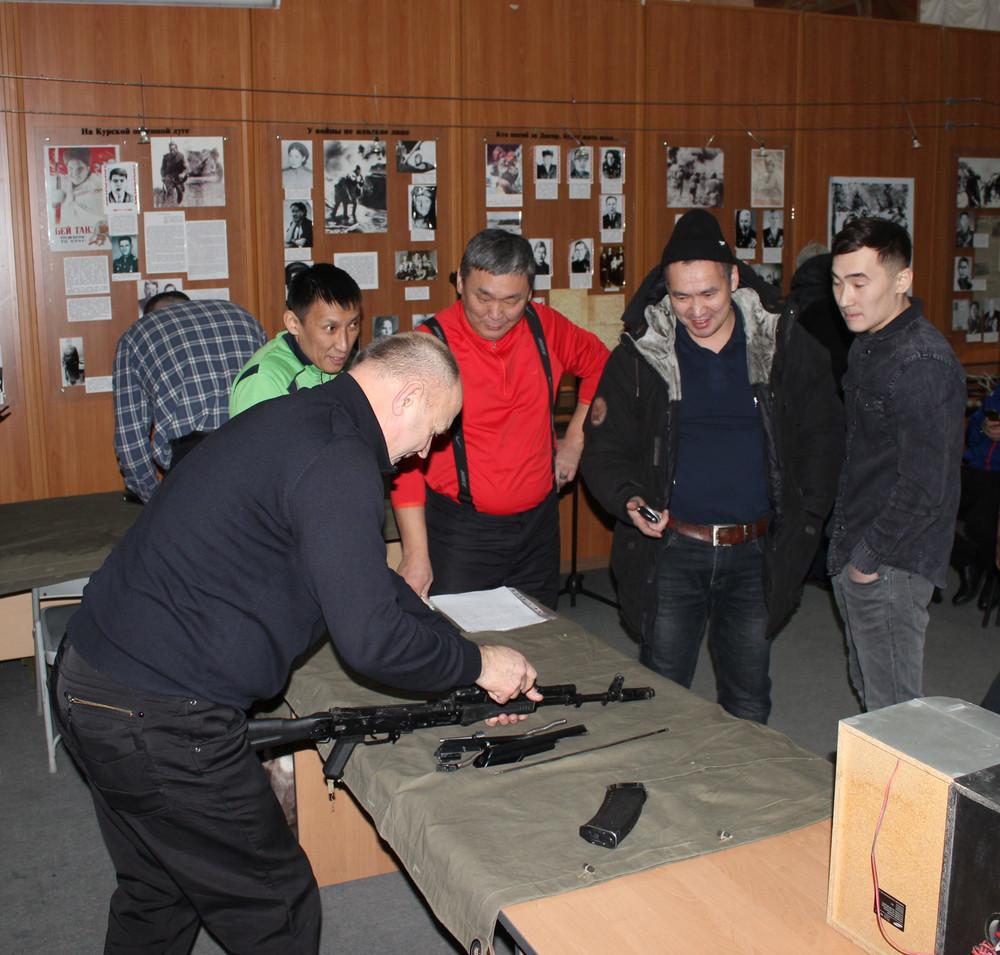 В Якутске состоялось первенство учителей ОБЖ по военно-прикладному троеборью