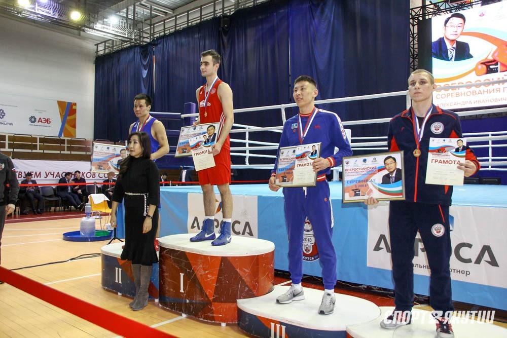 Названы победители всероссийского турнира памяти президента Федерации бокса Якутии Александра Федотова