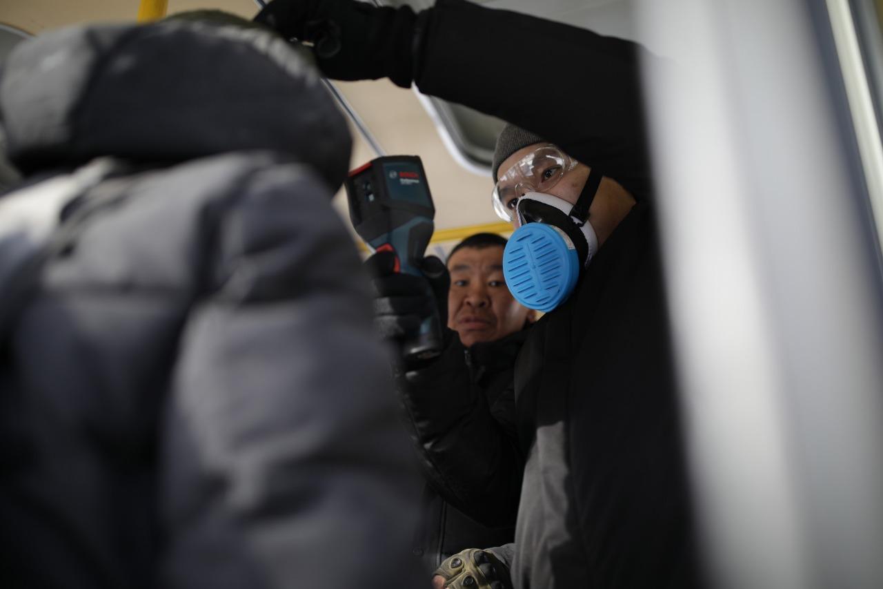 В Якутске провели акцию по профилактике коронавируса среди бездомных