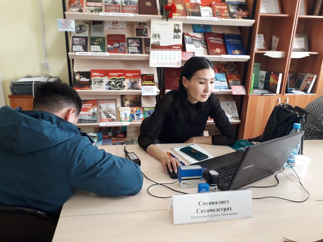 Прием граждан в труднодоступных наслегах Нюрбинского района набирает обороты